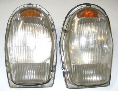Picture of Mercedes european headlights, W108/W109