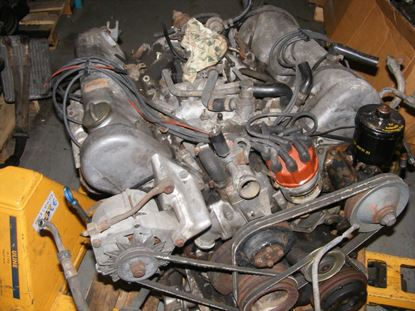 Picture of 450SL 72-75 used engine, 117983 sold