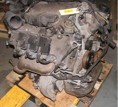Picture of engine, e320 4-matic, 112.941