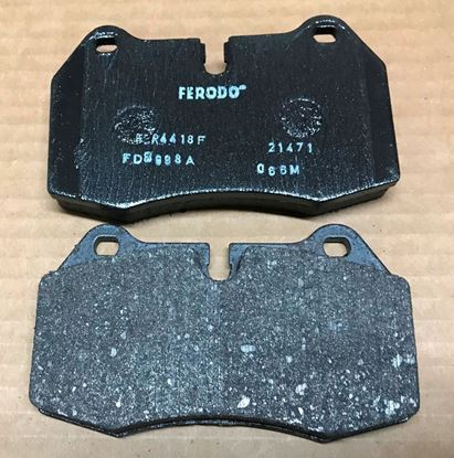 Picture of BMW 840/850 barke pads 341111363923