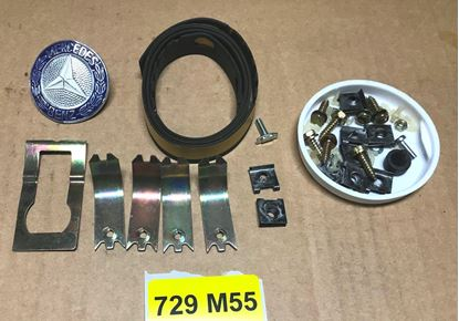 Picture of Mercedes w114/w115 grill installation kit 1148800397